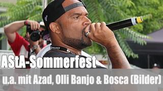 AStA-Sommerfest: u.a. mit Azad, Olli Banjo, Bosca (Bilder)