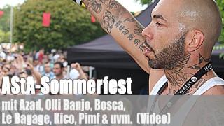 AStA-Sommerfest: u.a. mit Azad, Olli Banjo, Bosca (Video)