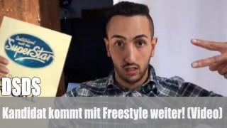 DSDS: Kandidat kommt mit Freestyle weiter! (Video)