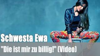 """Schwesta Ewa: """"Die ist mir zu billig!"""" (Video)"""