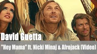 "David Guetta: ""Hey Mama"" ft. Nicki Minaj & Afrojack (Video)"
