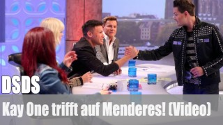 DSDS: Kay One trifft auf Menderes! (Video)