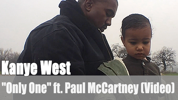 Kanye West - Only One ft. Paul McCartney (Video)