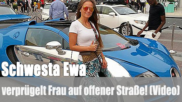 Prügelvideo von Schwesta Ewa veröffentlicht!