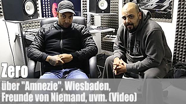 Zero - über 'Amnezie', Freunde von Niemand, Wiesbaden, uvm. (Video)