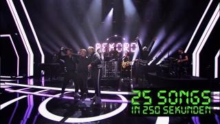 Die Fantastischen Vier – 25 Songs in 250 Sekunden (Video)