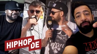 Ghostface Killah, Sido & Haftbefehl im Talk mit Rooz (Video)