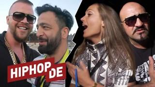 Kollegah, Ewa, Xatar & Nicki Minaj im Backstage (Video)