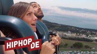 Mutprobe: Mit Schwesta Ewa auf dem Freefall Tower (Video)