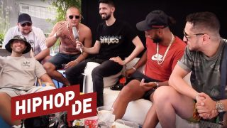 Nimo, Olexesh, Hanybal, Celo & Abdi machen QVC-Action (Video)
