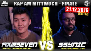 Rap am Mittwoch: Fourseven vs. SSYNIC (Video)