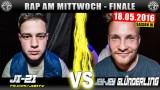 Rap am Mittwoch: Ji-Zi vs. Jey-Jey Glünderling (Video)