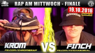Rap am Mittwoch: Krom vs. Finch Asozial (Video)