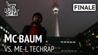 VBT Elite 2016: MC Baum vs. ME-L Techrap | HR (Finale)