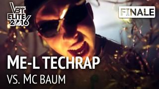 VBT Elite 2016: ME-L Techrap vs. MC Baum | HR (Finale)