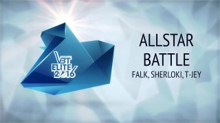 VBT Elite Allstar Battle: Falk, Sherloki & T-Jey (Video)